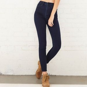 Urban Outfitters BDG navy jeans 29w twig high rise